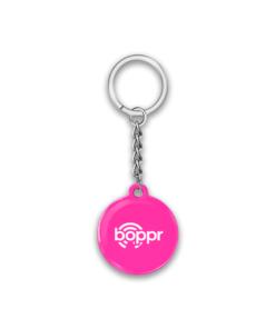 Boppr Pink Keychain